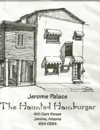 haunted hanburger original menu